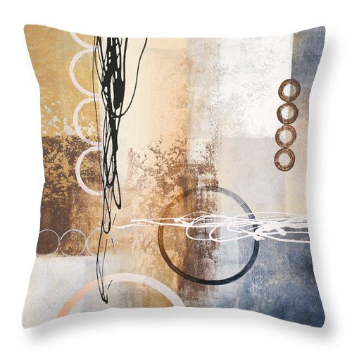 Intersections I Throw Pillow