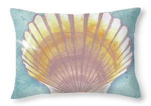 Explorations-SFI: Mermaid Treasure V Throw Pillow