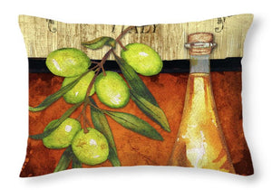 Explorations-SFI: Cuisine II Throw Pillow - Sorrento