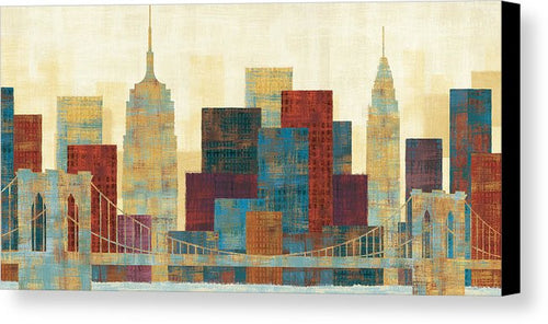 Majestic City Canvas Print by Michael Mullan