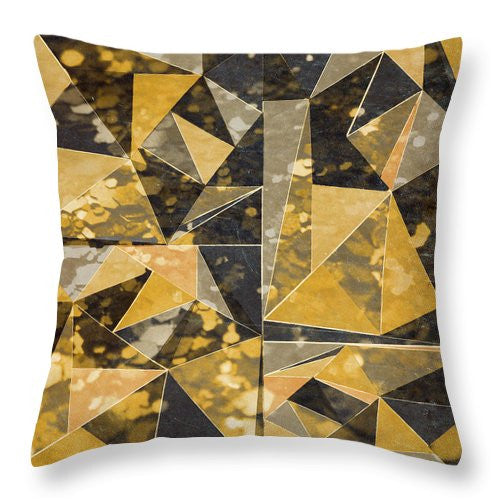 Explorations-SFI: Omg Modern Triangles II Throw Pillow