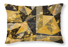 Load image into Gallery viewer, Explorations-SFI: Omg Modern Triangles II Throw Pillow