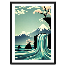 Load image into Gallery viewer, Explorations-SFI: Waterfall Blossom Dream Art Print