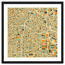 Load image into Gallery viewer, Los Angeles Map Art Print