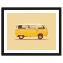 Load image into Gallery viewer, Yellow Van Art Print