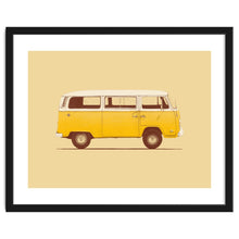 Load image into Gallery viewer, Explorations-SFI: Yellow Van Art Print