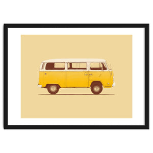Explorations-SFI: Yellow Van Art Print