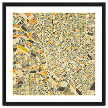 Load image into Gallery viewer, Dallas Map Art Print