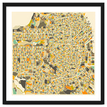 Load image into Gallery viewer, San Francisco Map Art Print
