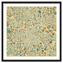Load image into Gallery viewer, Explorations-SFI: Houston Map Art Print