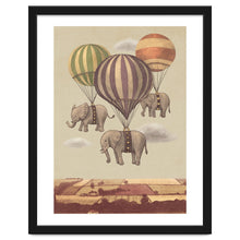 Load image into Gallery viewer, Flight Of The Elephants Art Print