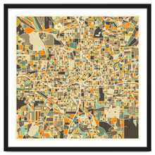 Load image into Gallery viewer, Explorations-SFI: Atlanta Map Art Print
