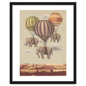 Explorations-SFI: Flight Of The Elephants Art Print