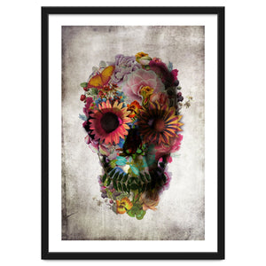 Explorations-SFI: The Skull Art Print