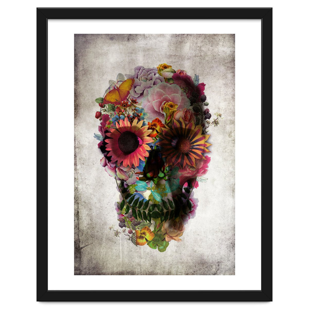 Explorations-SFI: The Skull Framed Artwork