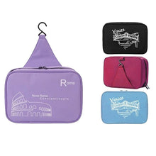 Load image into Gallery viewer, Explorations-SFI: Travel Hanger Toiletries Bag