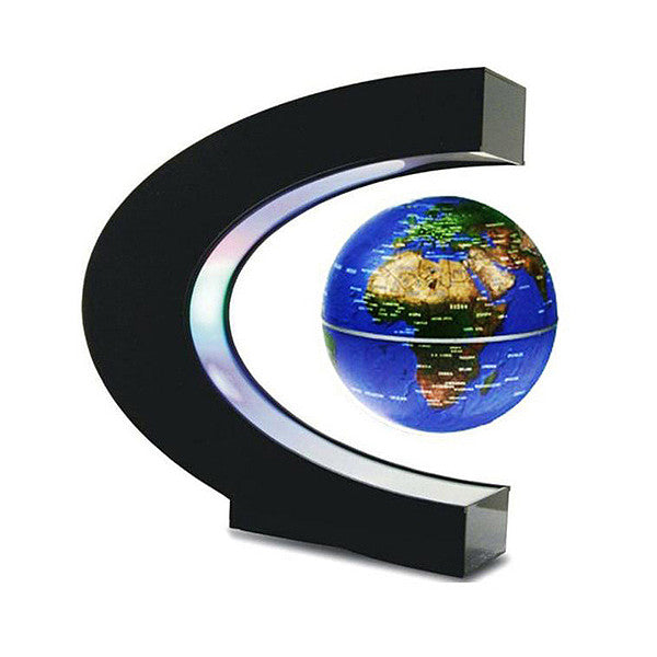 Explorations-SFI: Magnetic Levitation Globe for Desk