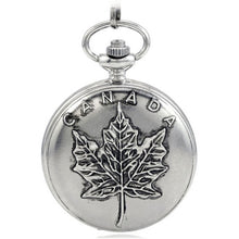 Load image into Gallery viewer, Explorations-SFI: Canada 150th Birthday Celebration Pocket Watch