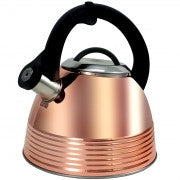 Load image into Gallery viewer, Bondfield 2.4 Qt Tea Kettle, Copper Plated