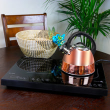 Load image into Gallery viewer, Explorations-SFI: Bondfield 2.4 Qt Tea Kettle, Copper Plated