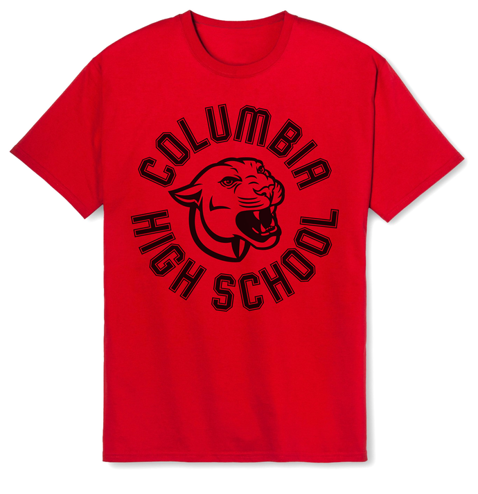 CHS Red Cougar Tee Shirt