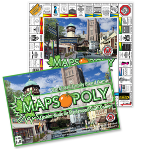 MAPSOPOLY BOARD GAME