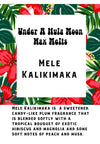 """Mele Kalikimaka"" Wax Melts"
