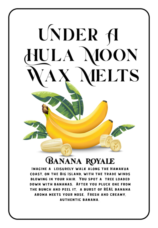 """Banana Royale"" Wax Melts"