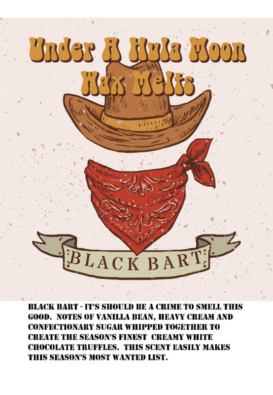 """Black Bart"" Wax Melts"