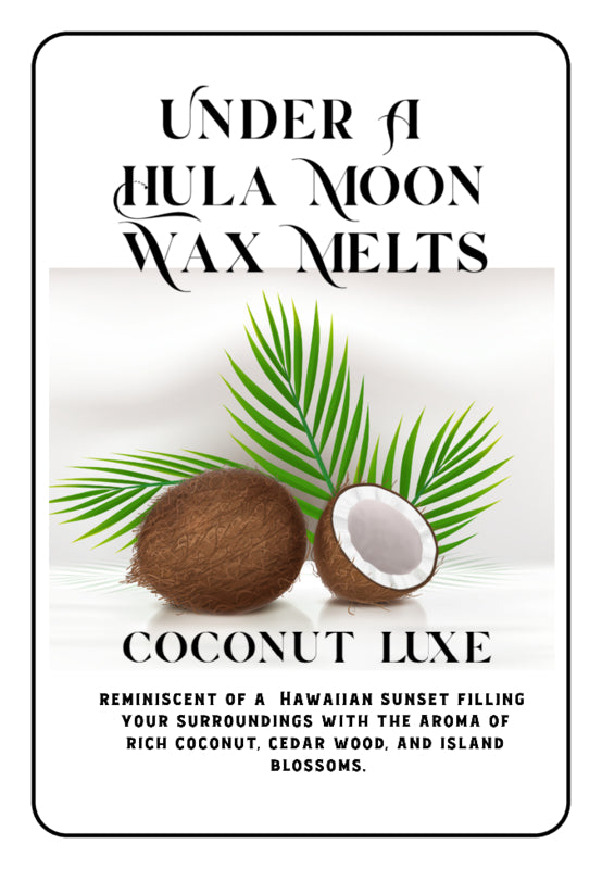 """Coconut Luxe"" Wax Melts"