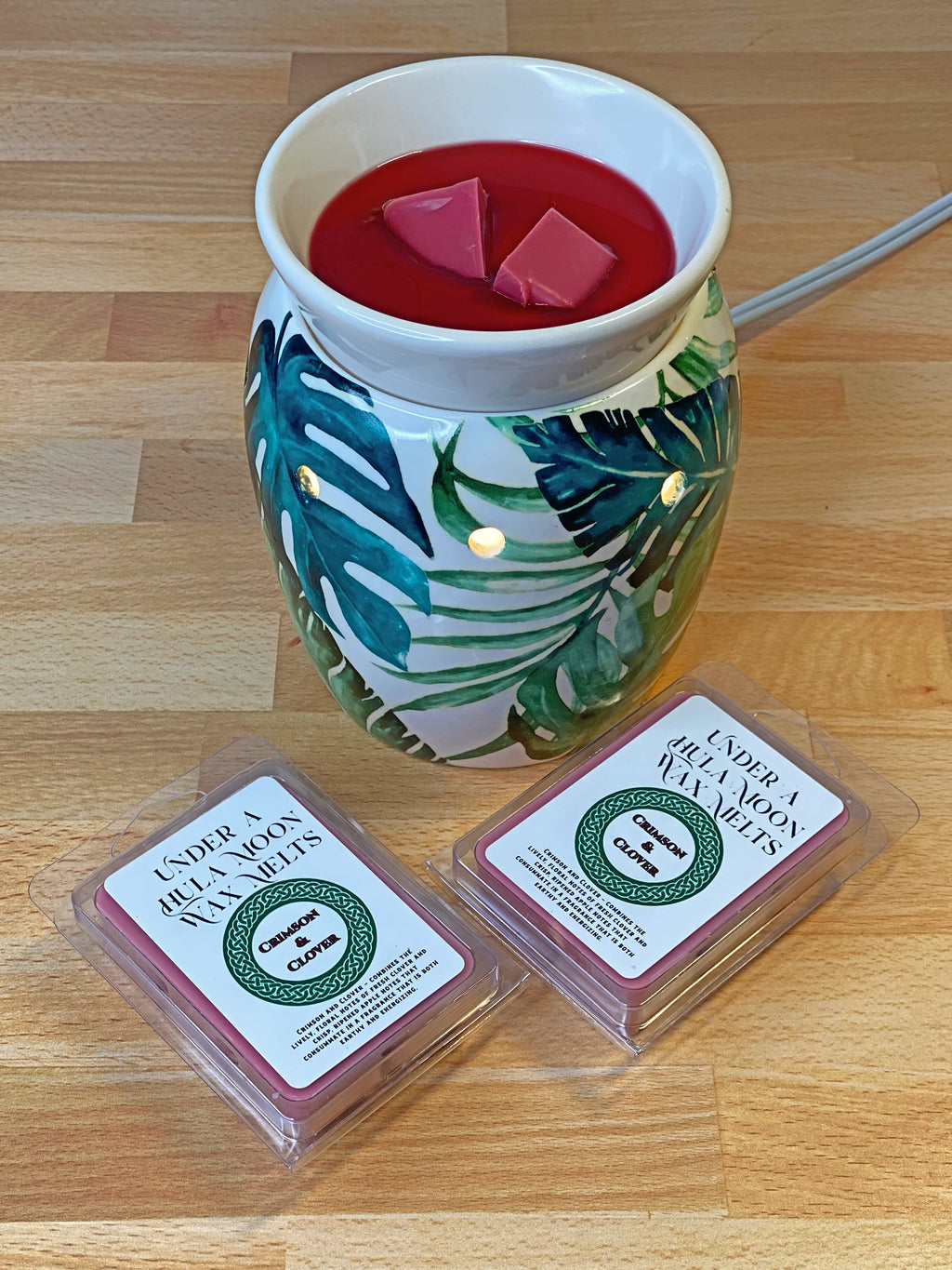Crimson and Clover Wax Melts