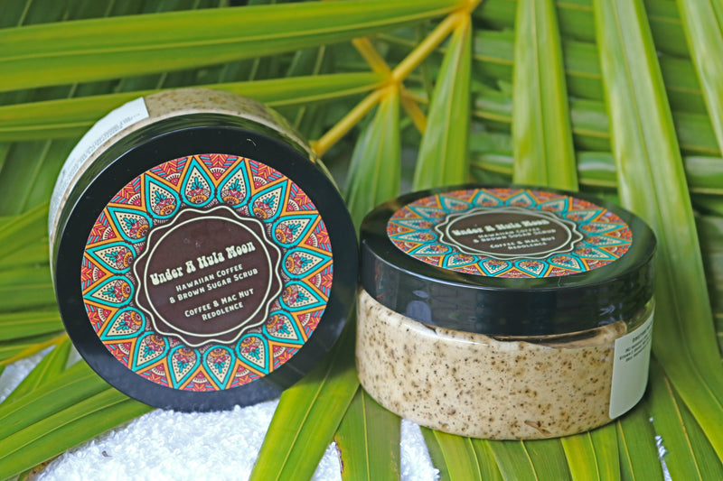 Hawaiian Coffee Brown Sugar Scrub - Macadamia Nut