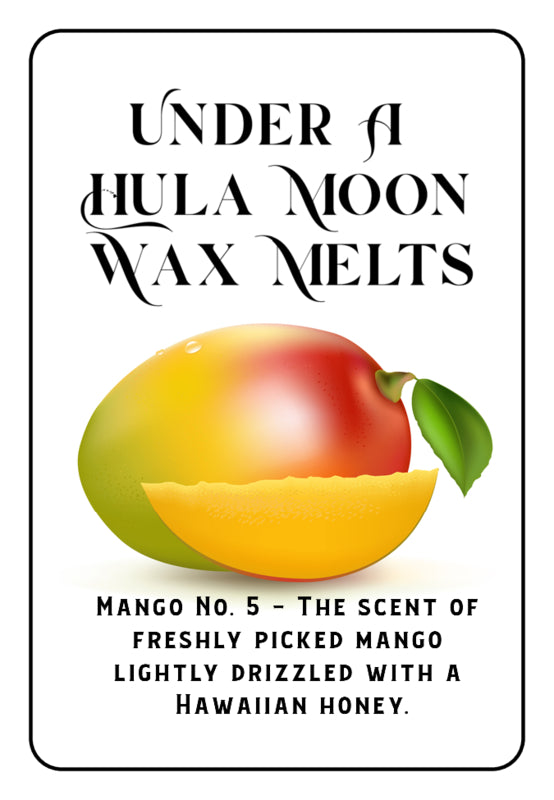 """Mango No. 5"" Wax Melts"