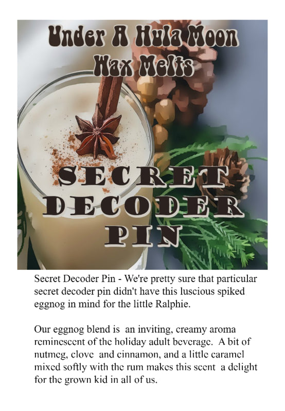 """Secret Decoder Pin"" Wax Melts"