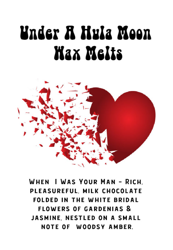 """When I Was Your Man"" Wax Melts"