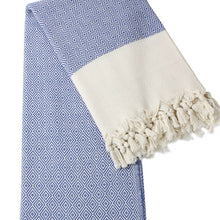 Load image into Gallery viewer, Beach & Bath-Diamond Weave-Two tone (hand-loomed)