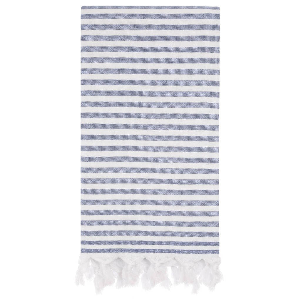 Beach & Bath-Double Sided-Blue&White