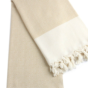 Beach & Bath-Diamond Weave-Two tone (hand-loomed)