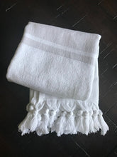 Load image into Gallery viewer, Hand Towel (Double sided weave)-WhiteLightBeige