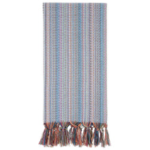 Load image into Gallery viewer, 100% Cotton Authentic Turkish Towel-Hand Loomed-Blue Dreams