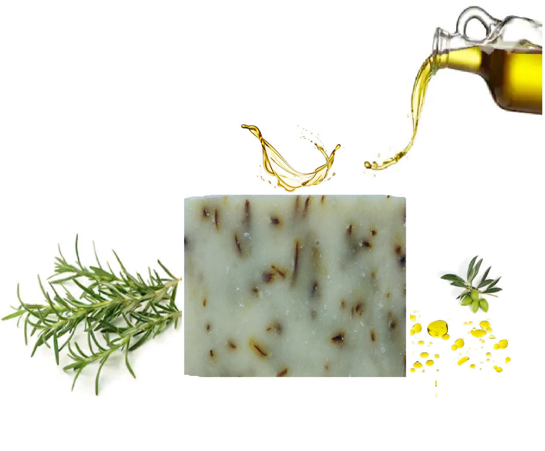 Olive Oil Soap-Rosemary (Hand made)