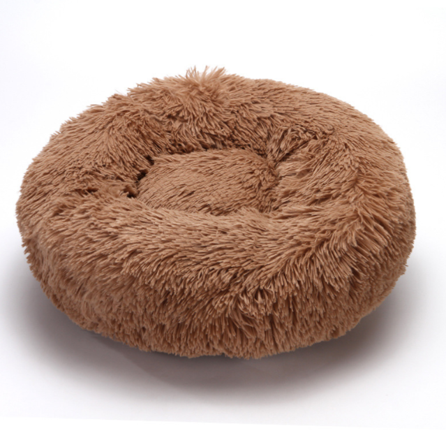 Faux Donut Cat Bed