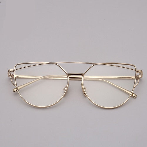 Women's Vintage Cat Eye Sunglasses