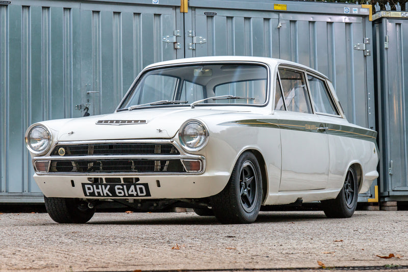 Time to dig deep into your pockets as this legendary Lotus equipped Cortina goes under the hammer next year.