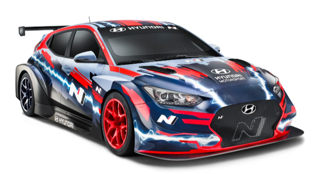 THE HYUNDAI VELOSTER N IS GOING ALL-OUT ELECTRIC FOR MOTORSPORTS