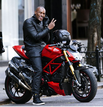 Top 5 Male Celebrities using motorcycles