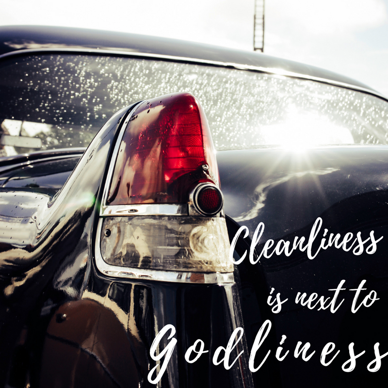 THE 7 MUST HAVES FOR CLEANING YOUR CAR