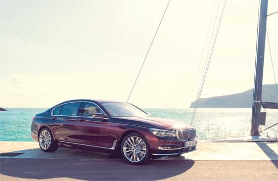 Yacht inspired BMW 7 series is pure luxury on wheels