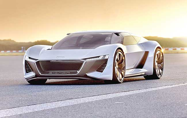 Audi unveils electric supercar