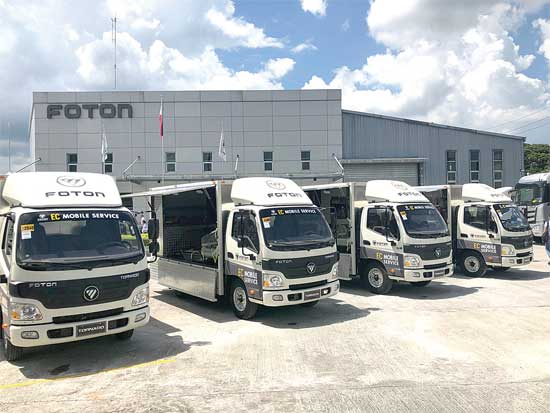 Foton pushes the bar of customer service